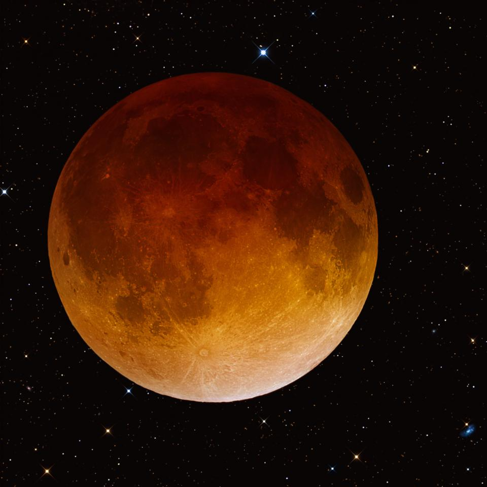 Lunar eclipse 4.15.2014 taken by R Jay GaBany
