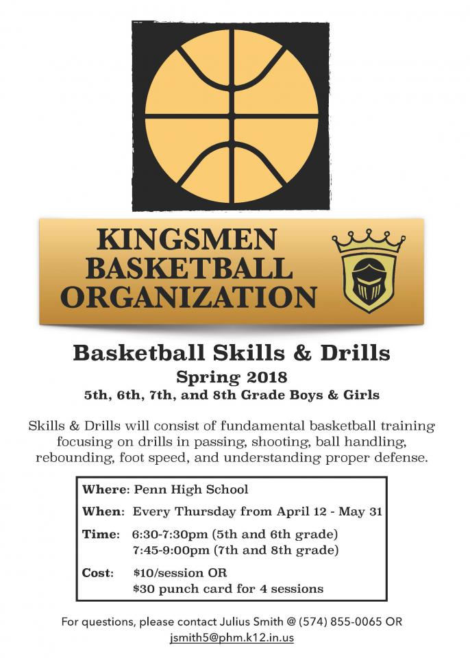 Penn Basketball Skills & Drills
